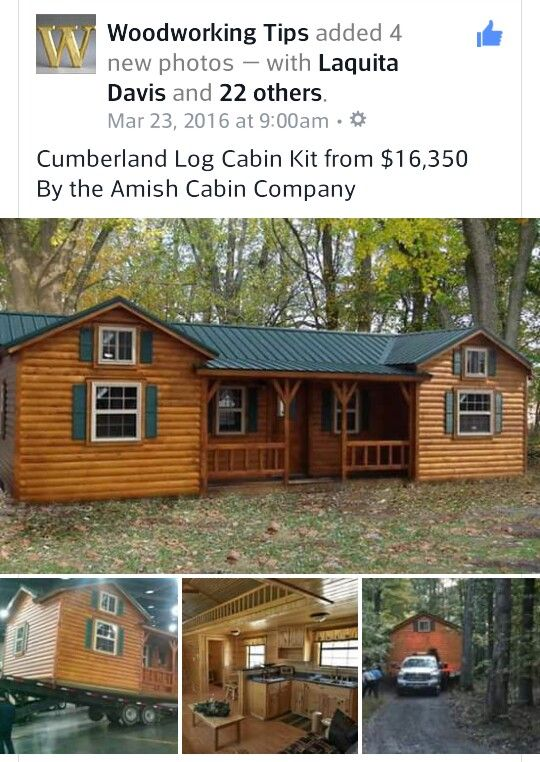 pin by peanut on tiny house design amish cabins cabin homes log rh pinterest com