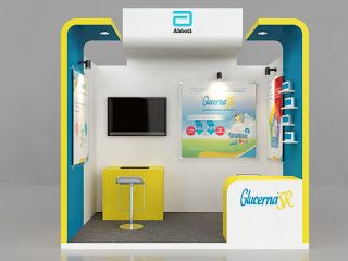 Exhibition Stall Design 3x3 : Exhibition stall d models sqm one side open stall a