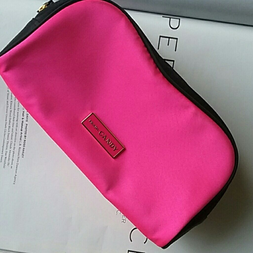 Prada Candy Cosmetic Bag. .