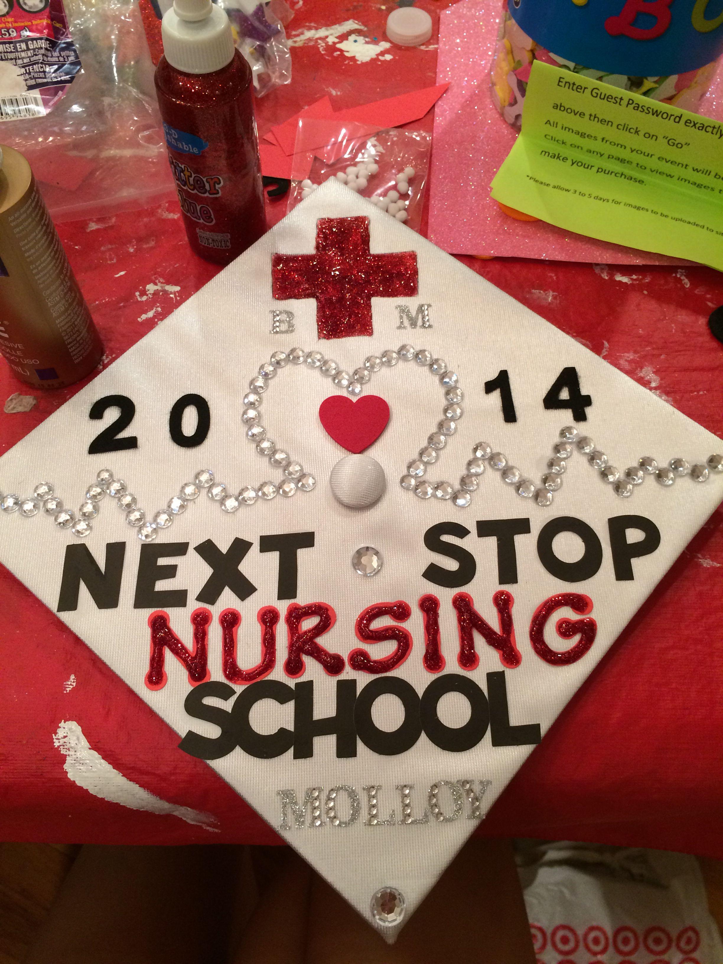 nursing graduation cap design | Graduation | Graduation cap