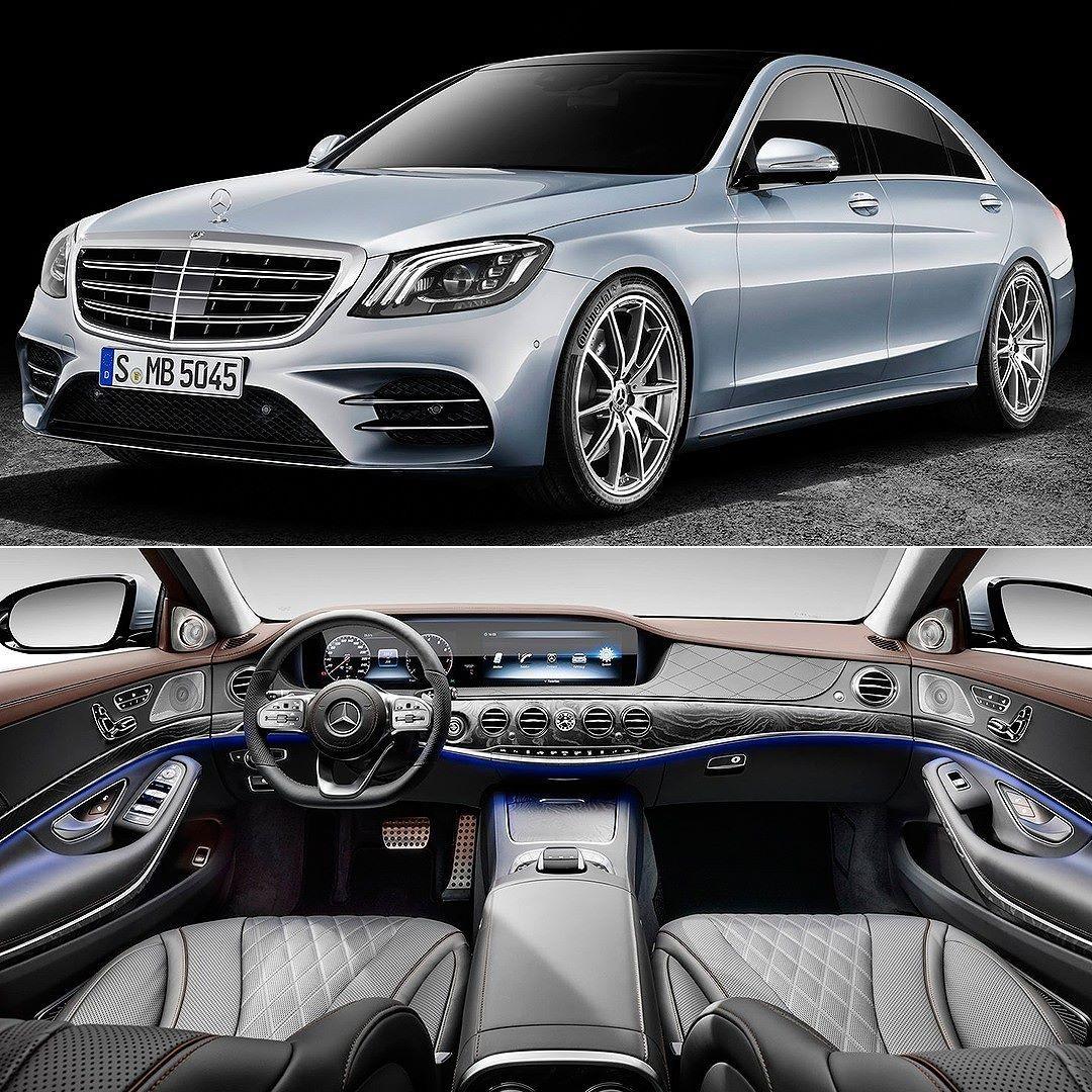 Mercedes-Benz S-Class 2018 Salão Do Automóvel De Xangai