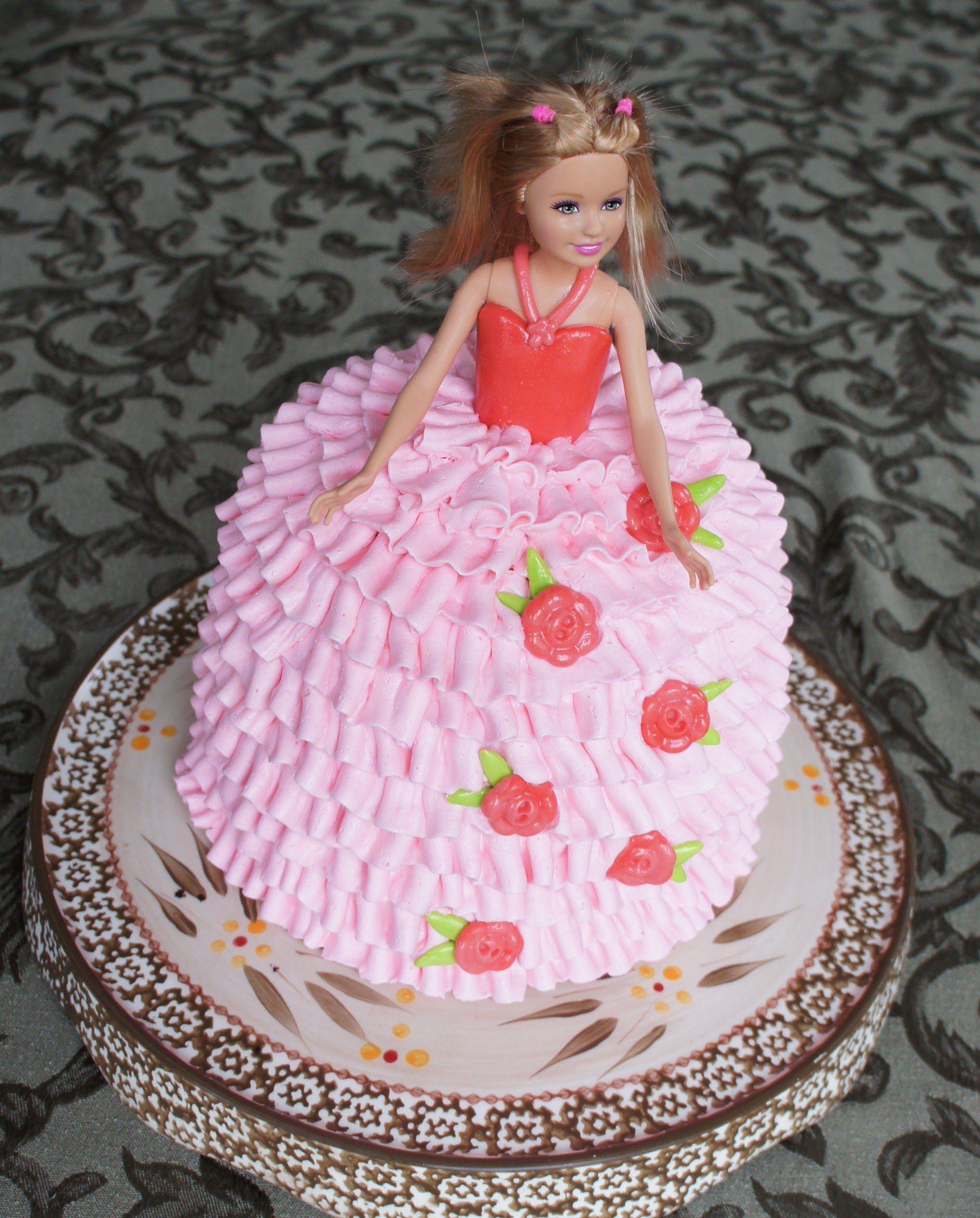 How to make a barbie doll birthday cake Montreal Confections this