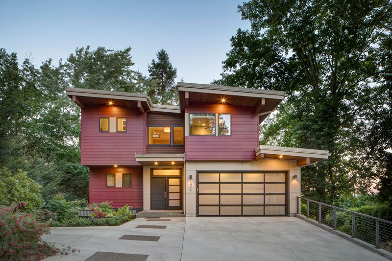 This Contemporary 3 Story Design Is Perfect For A Narrow