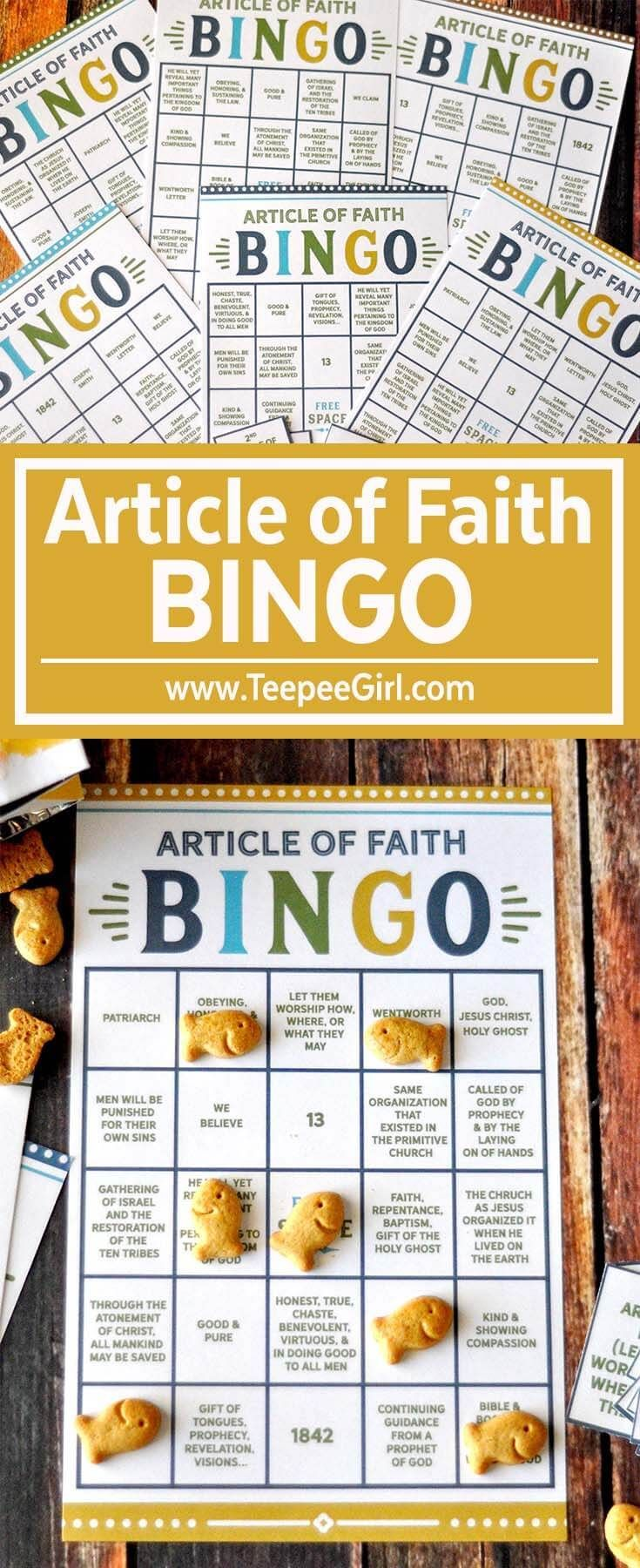 New Game Helps Children Memorize Articles of Faith ...