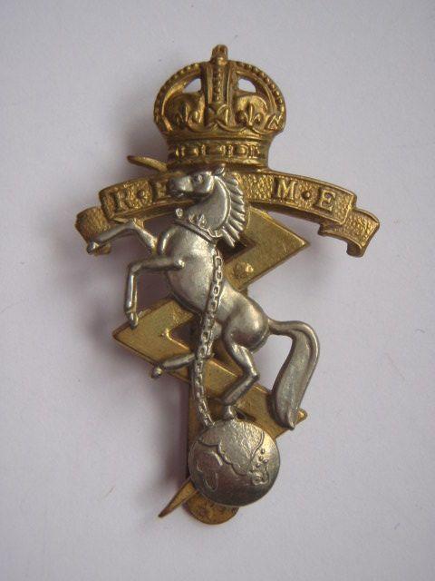 REME O//R Cap Badge