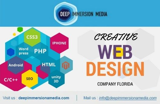 Deep Immersion Media Florida Web Design Company Website Design Web Design Web Design Company Website Design