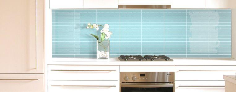 Light blue kitchen splashback tiles kitchensplashbacks for Splashback tiles kitchen ideas