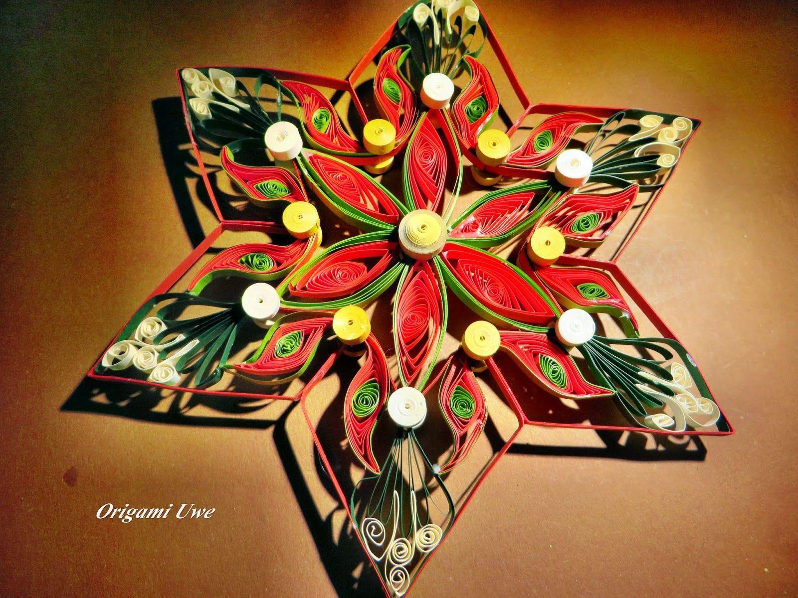 Origami, Quilling und Sterne: Quilling Star