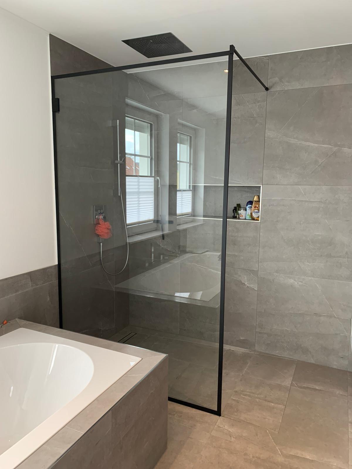 Loft Duschabtrennungen In 2020 Glasscheibe Dusche Badezimmer Innenausstattung Glasduschen