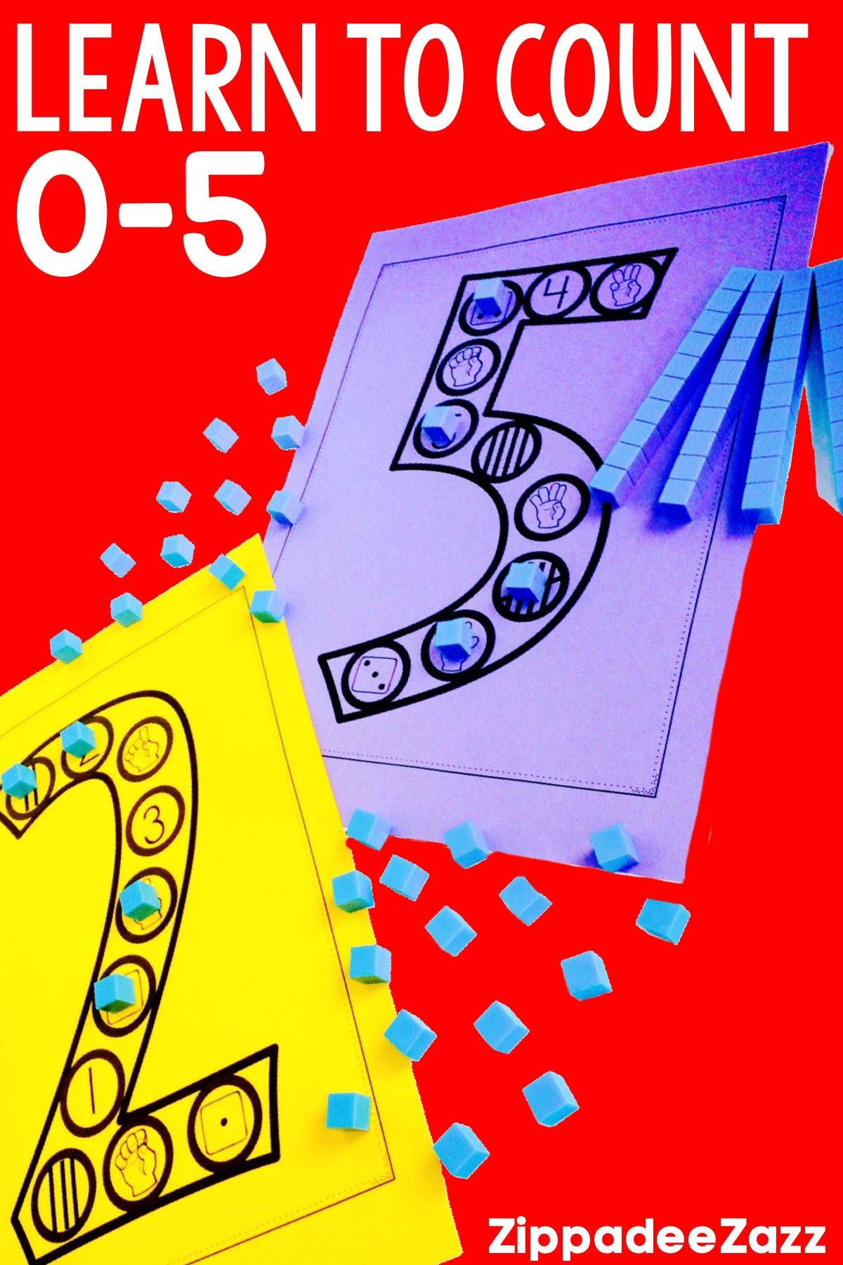 These Fun No Prep Printable Subitizing Math Centers Are