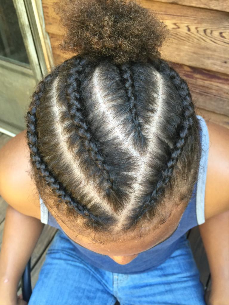 Braids hair goals pinterest hair style curly and haircuts