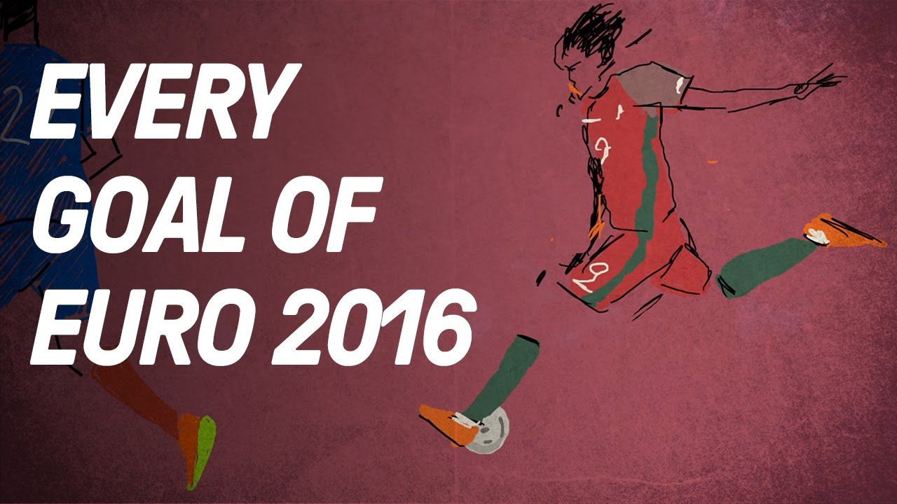 Every Goal Of Euro 2016 Animated Copa90 on youtube