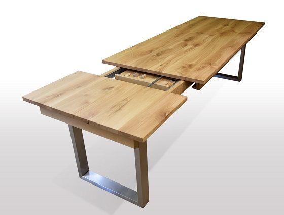 Tisch Esstisch Wildeiche Bei Tischmoebel De Esstisch
