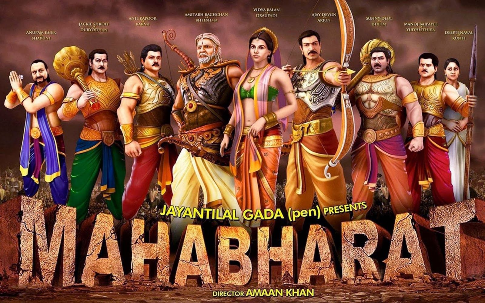 Bollywood and filmi fairy tales and legends animated