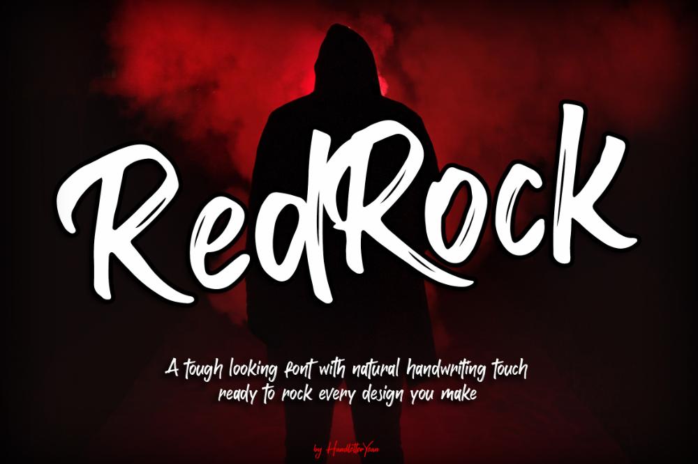 RedRock Free Display, Fonts (2020) Brand fonts, Fonts