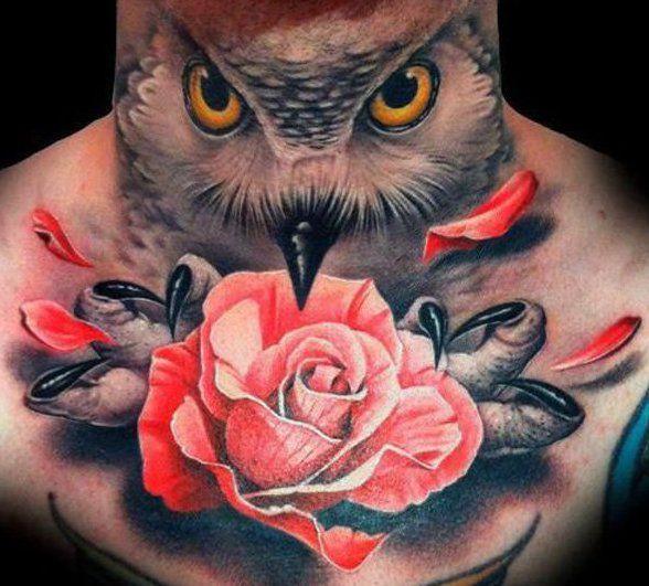 hals tattoo ideen f r mann eule tattoo vorschl ge k rperkunst pinterest tattoo vorschl ge. Black Bedroom Furniture Sets. Home Design Ideas
