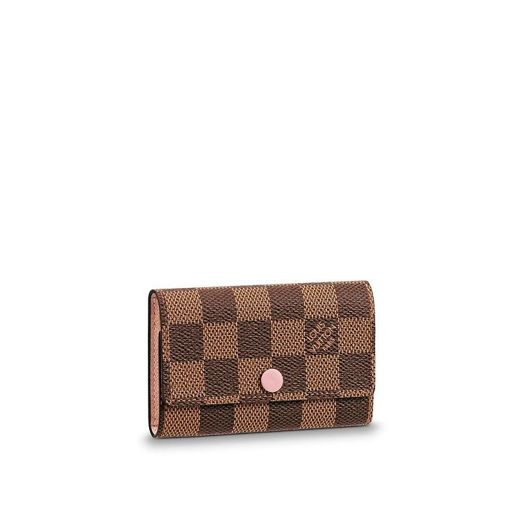 Damier ebene small leather goods key and card holders 6