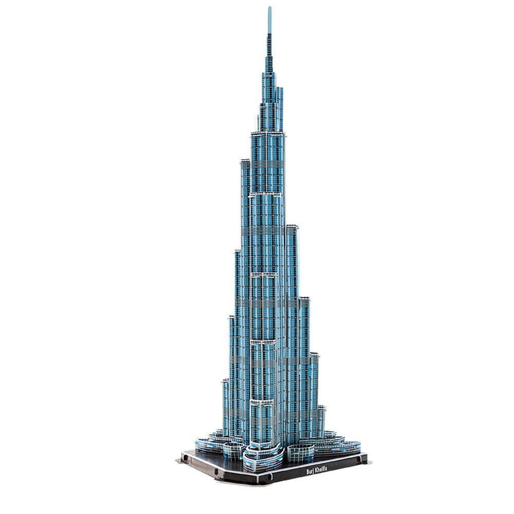 Ihram Kids For Sale Dubai: 3D Jigsaw Puzzle Burj Khalifa Tower 64 Pieces Toy New