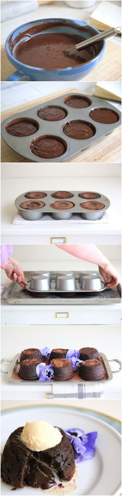 Photo Place: Chocolate Molten Cakes