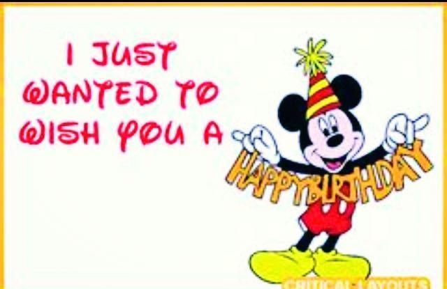 cute mickey wishes happy - photo #44