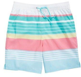 660471b23e Vineyard Vines Boca Bay Stripe Chappy Swim Trunks   Products   Swim ...