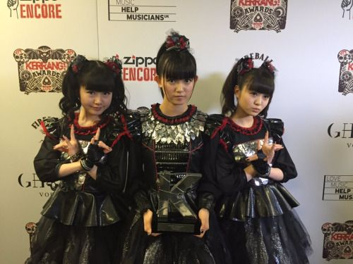 RT @StarRockShow: Best Live Act? Who else @BABYMETAL_JAPAN...