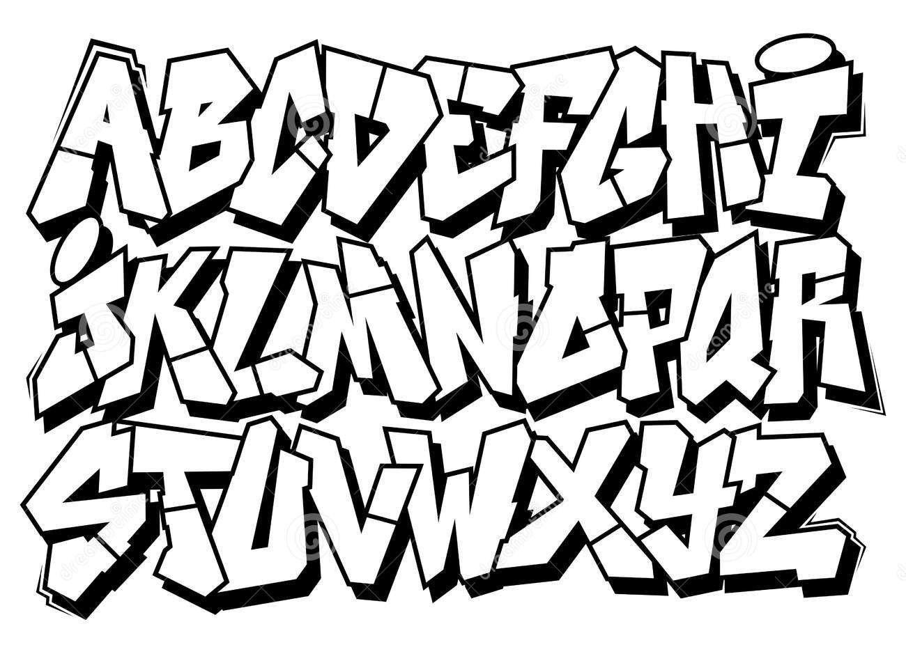 Bildergebnis für graffiti buchstaben Comicschrift