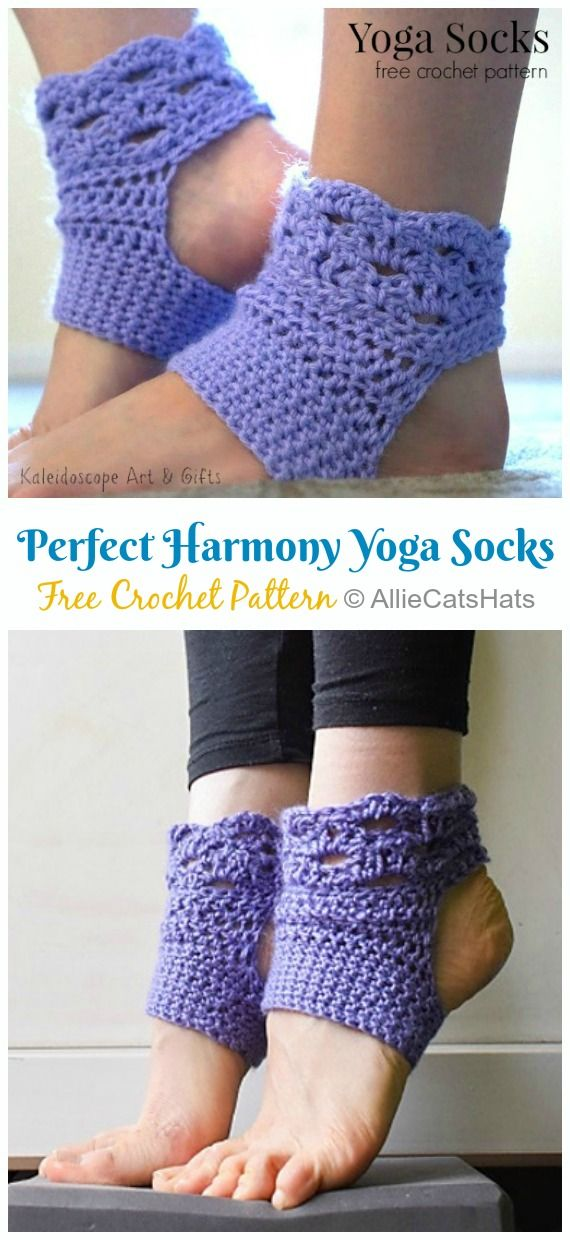 Yoga Socks Crochet Free Patterns - Crochet & Knitting