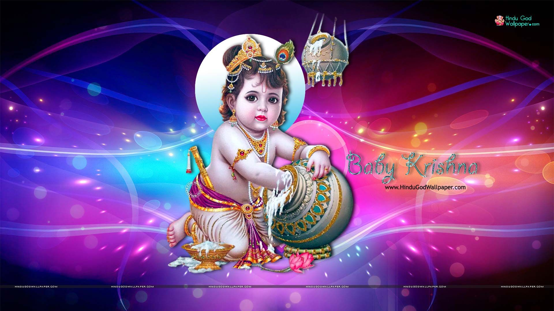 1080p Baby Krishna Hd Wallpapers Full Size Download In 2019 Baby