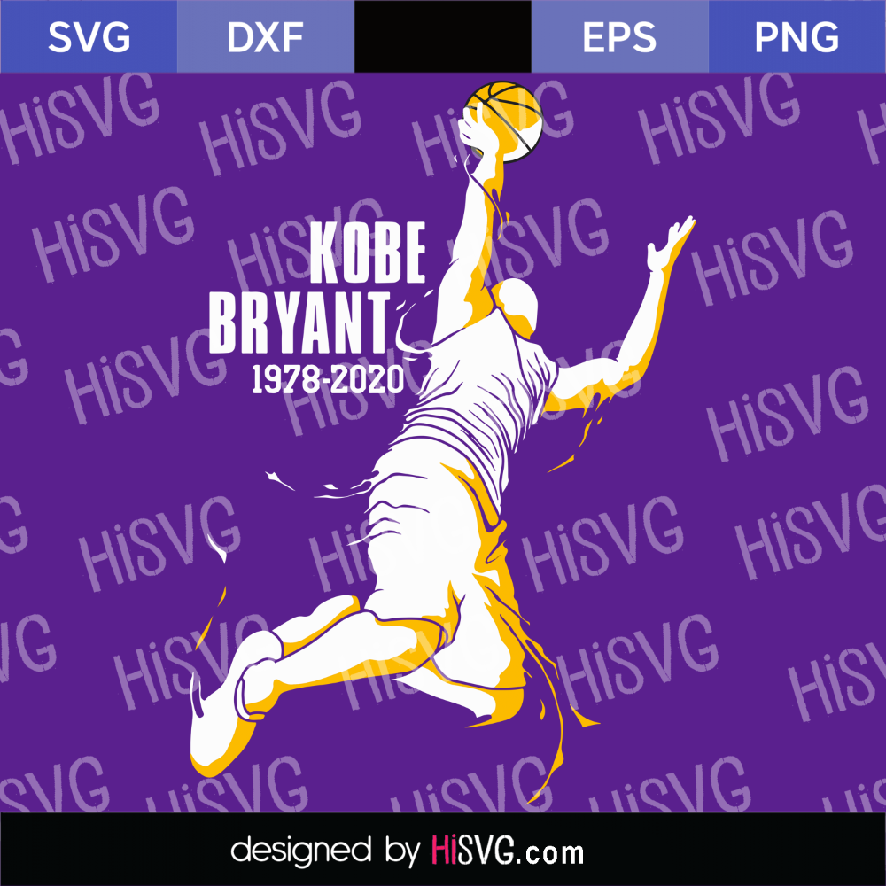 Pin on KOBE BRYANT SVG PNG AI