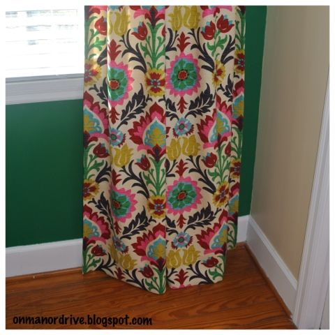 On Manor Drive: DIY Lined Curtains