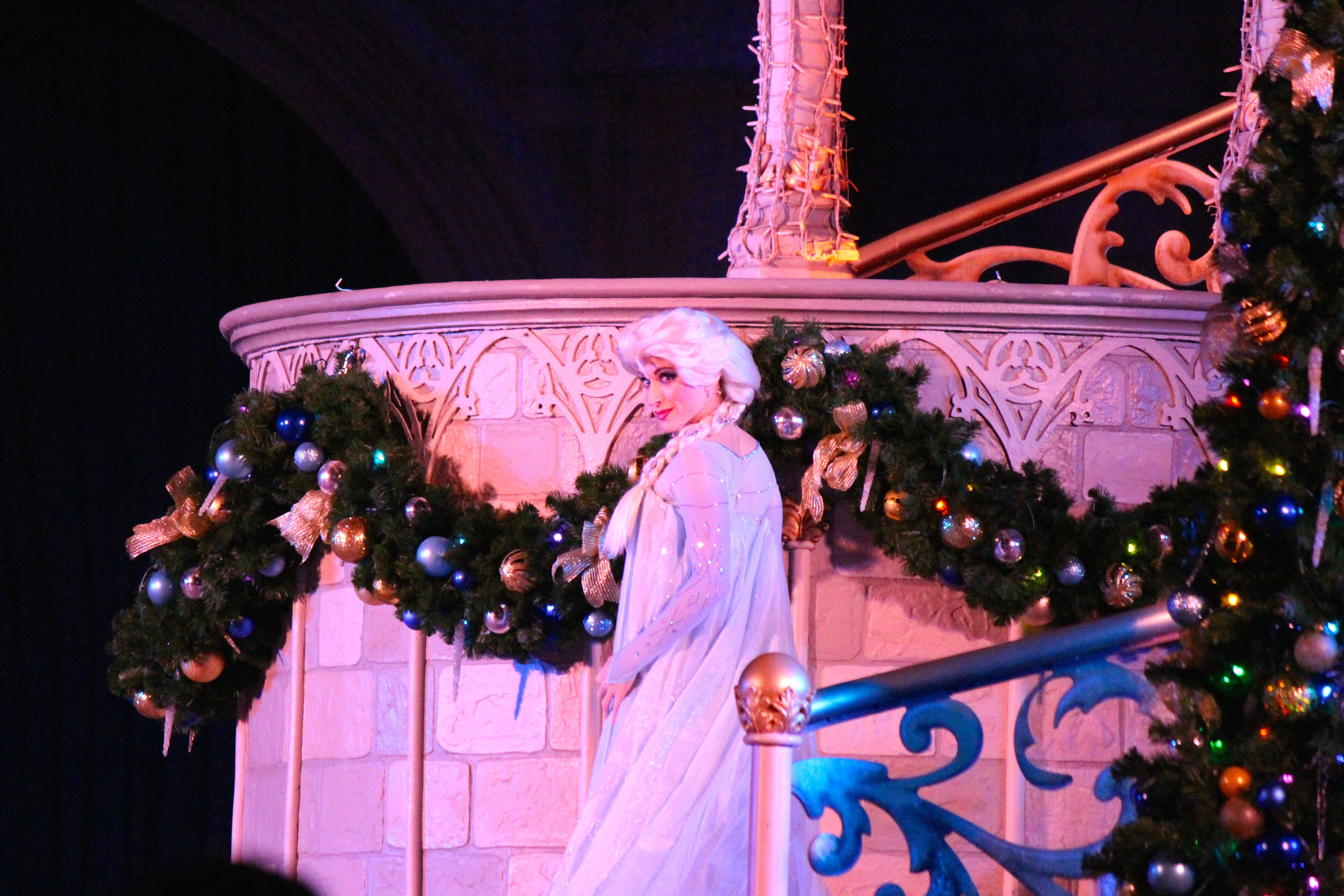 Elsa In A Frozen Holiday Wish #Wdw Walt Disney World