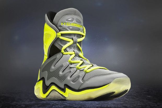 under armor high top basketball shoes
