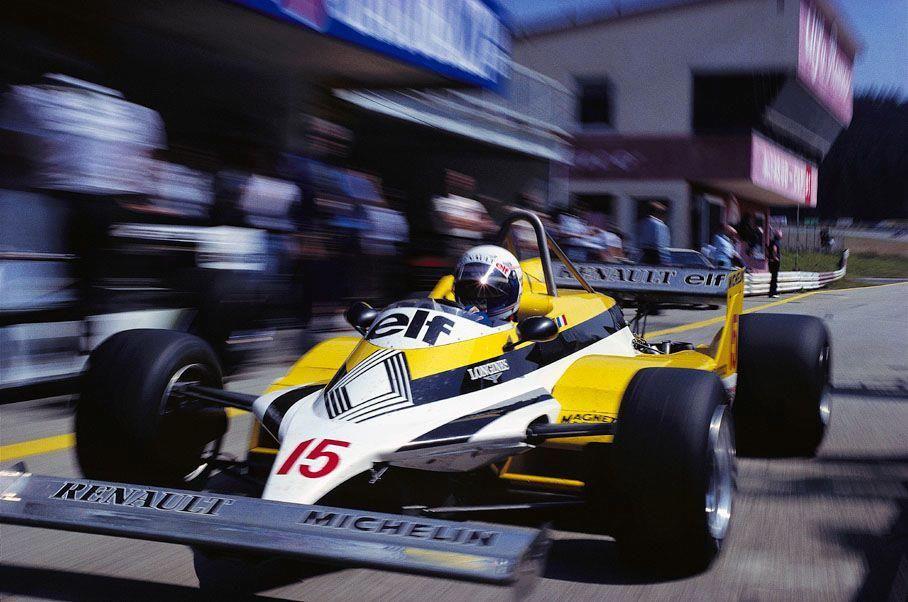 Alain Prost, Renault RE30, 1981 Austrian Grand Prix, Zeltweg