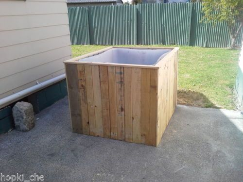 hot tub spa jacuzzi pool build decking hot tub time machine from ibc container ibc conteiner. Black Bedroom Furniture Sets. Home Design Ideas
