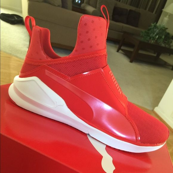 kylie jenner puma sneakers red