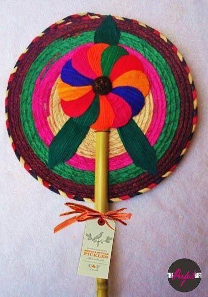 Abanico de palma redondo  014311ea3ed