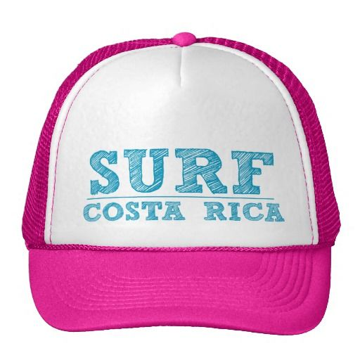 Women s Pink Surf Costa Rica Souvenir Hat  83b9f110b7c3
