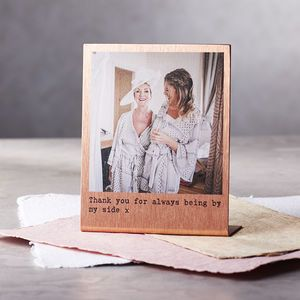 bbffca3c1d31 Personalised Solid Copper Polaroid Print - gifts for him