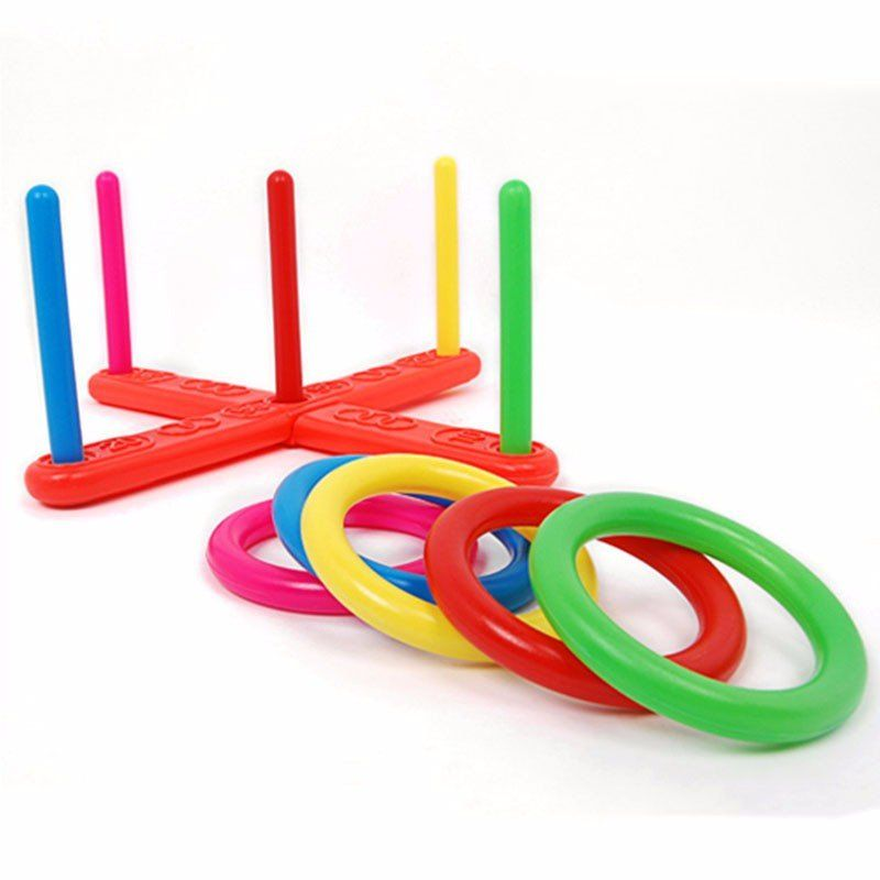 Children Outdoor Fun & toy sports Jumping Ring joy ferrule throwing game parent-child interaction Toys Indoor Toys Berry10.com