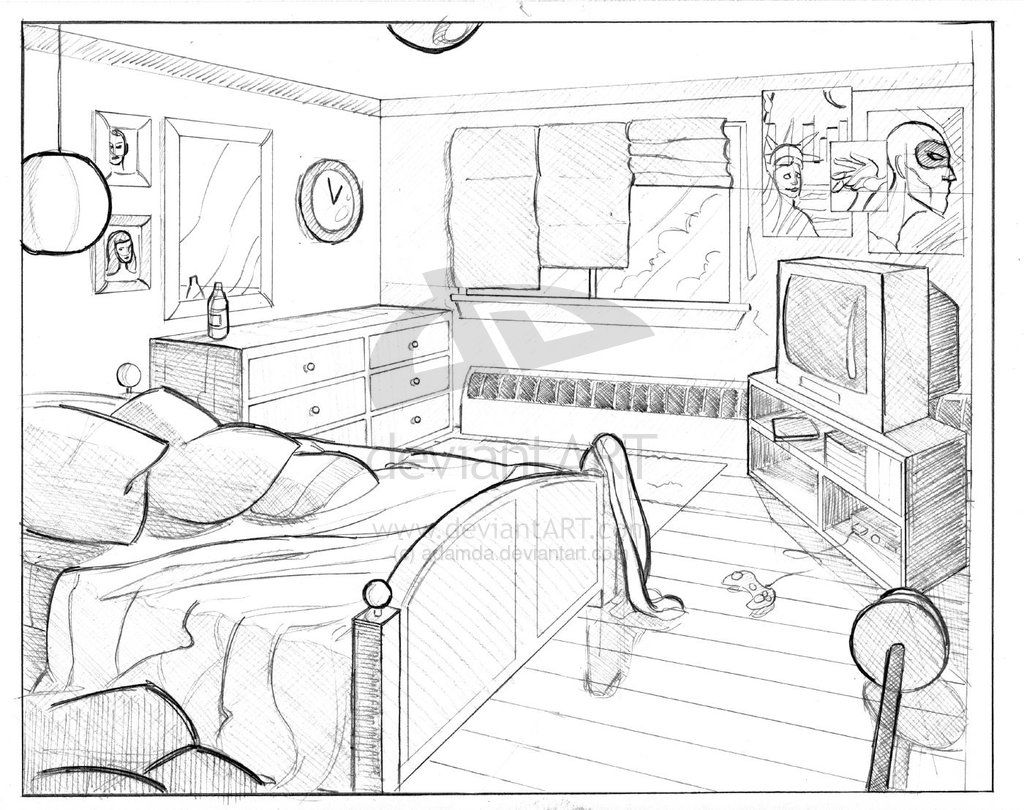 Perspective Perspective Drawing Architecture Perspective Drawing Perspective Room