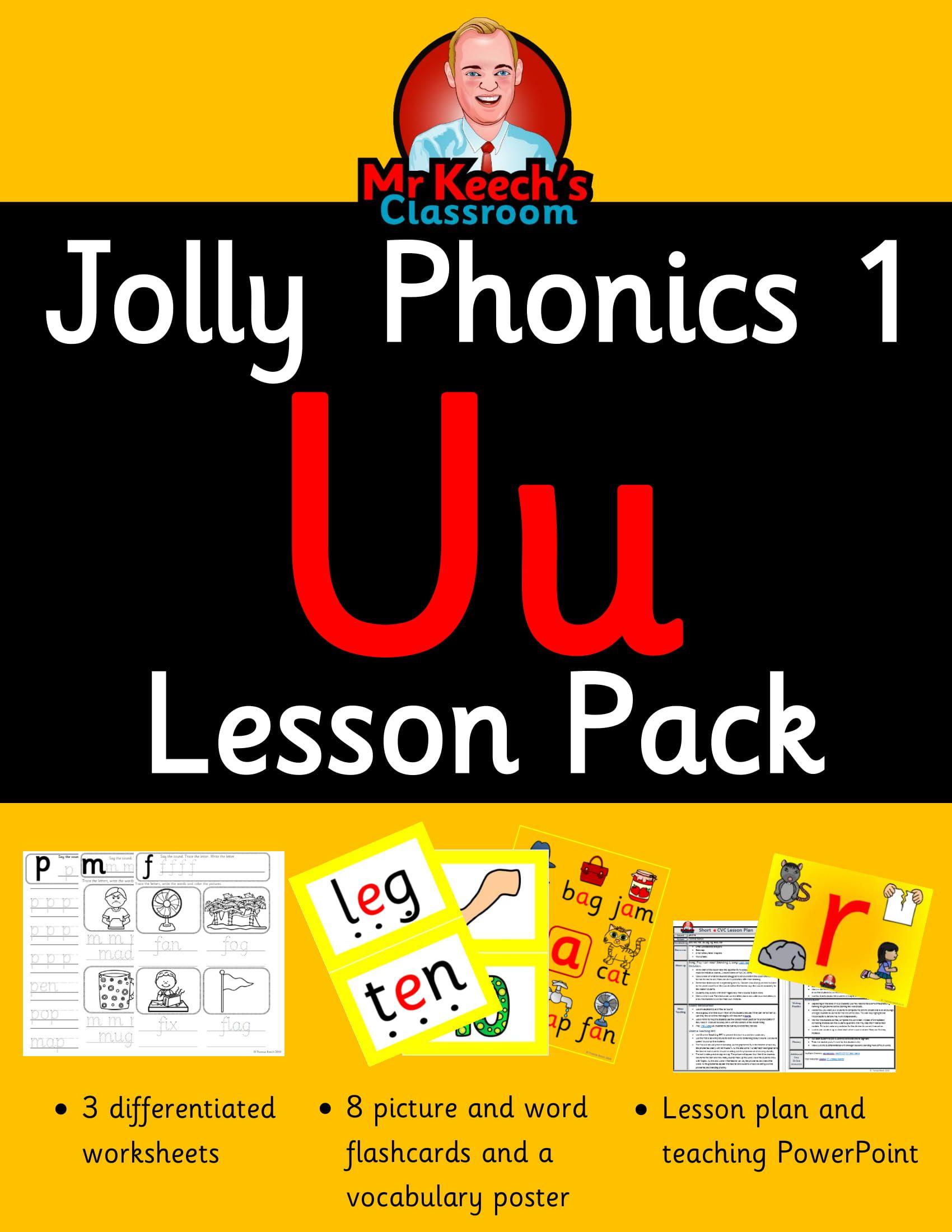 Phonics Worksheets Lesson Plan Flashcards