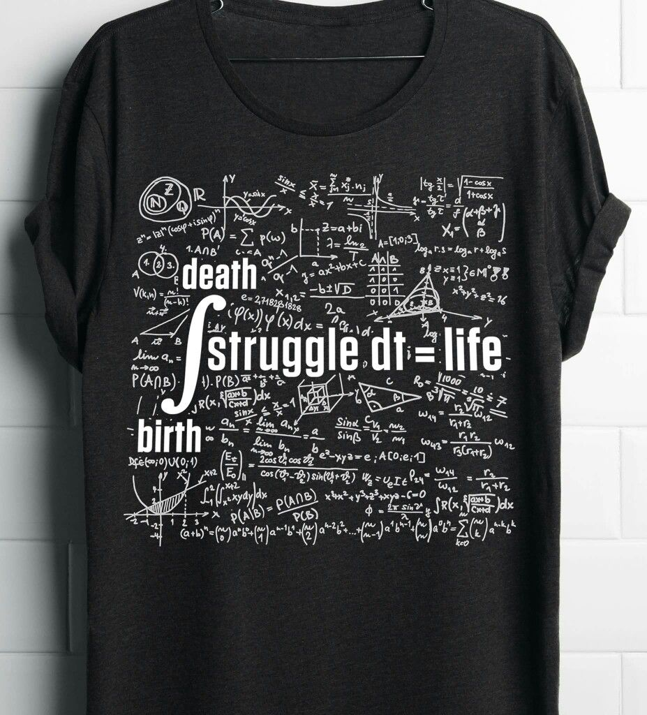 Integral from birth to death of the struggle is life.
