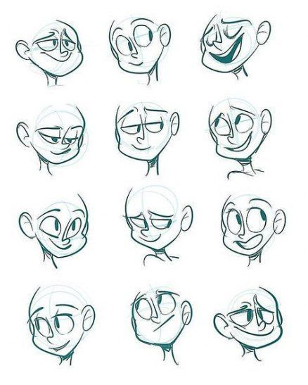 Drawing Cartoon Characters Animation Sketches 52+ Best Ideas