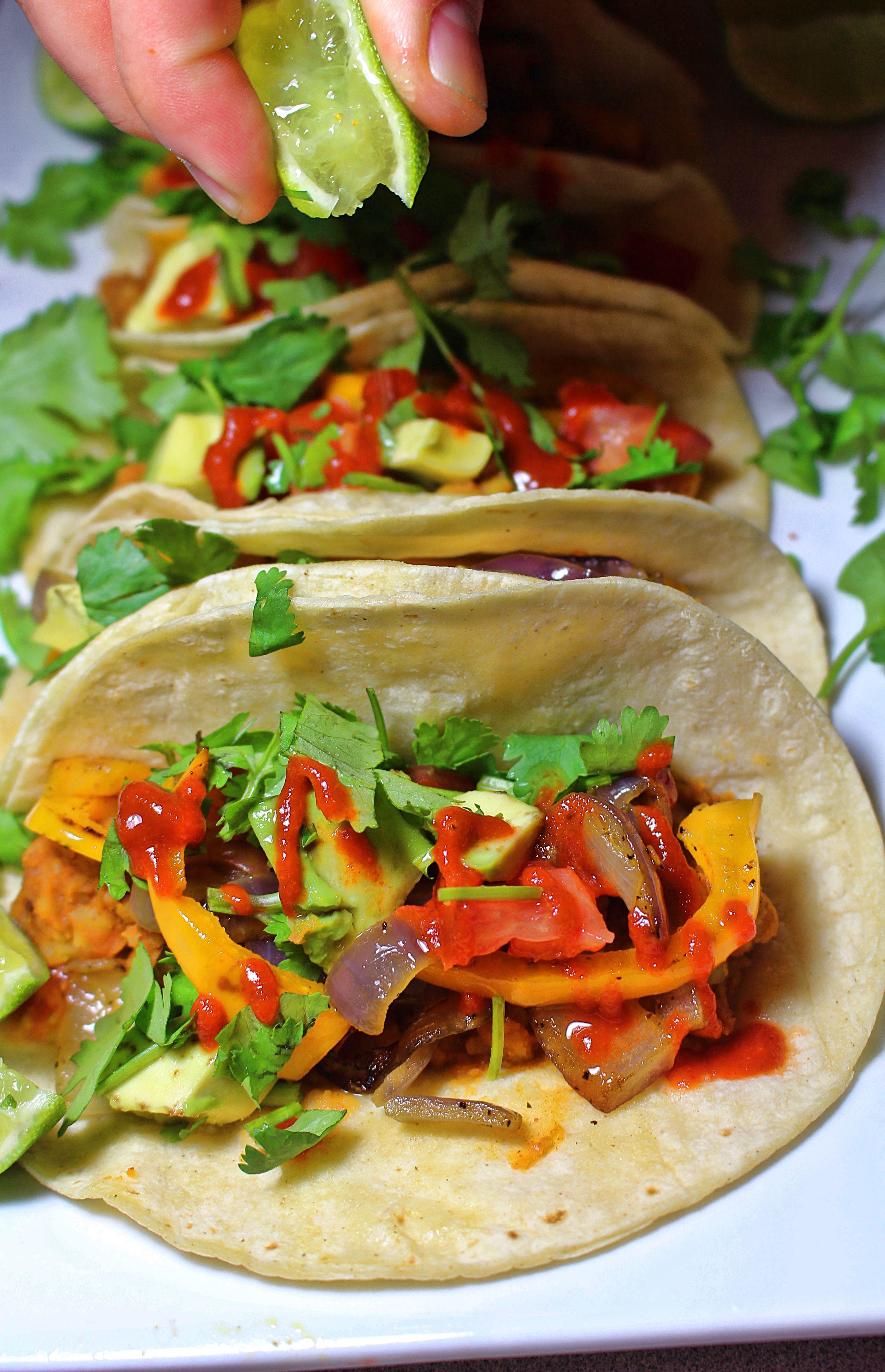 Yellow Split Pea Tacos