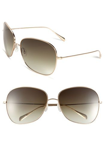 Oliver Peoples 'Elsie' 64mm Metal Sunglasses available at #Nordstrom