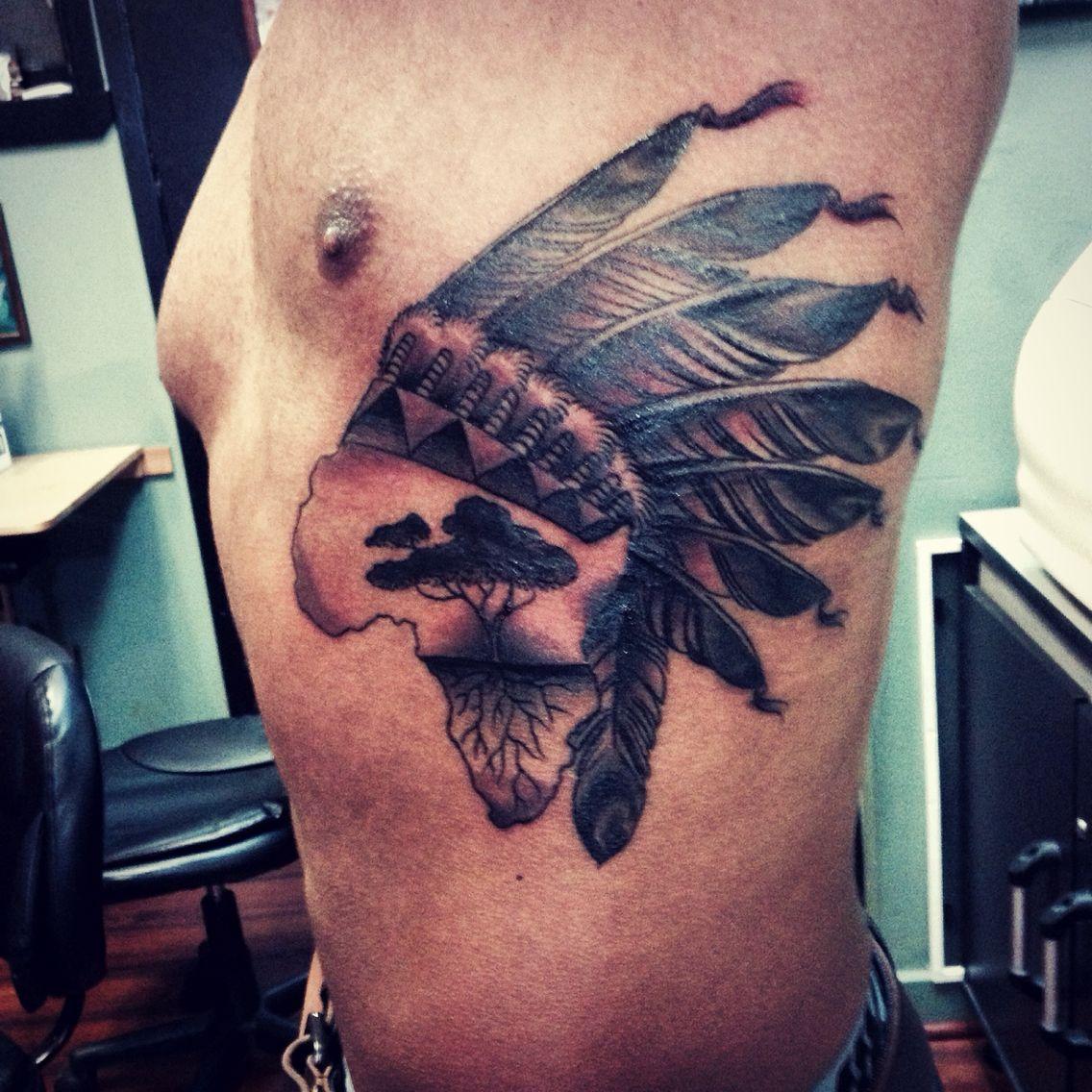 African Native American Tattoo Blackfoottribe Africanamerican Native American Tattoo American Tattoos African Tattoo