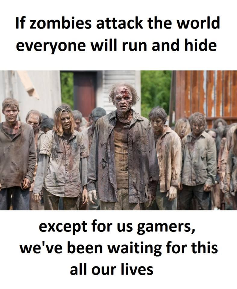 nice Be ready for the zombies, gamers