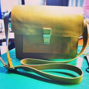 Satchel met keersoufflé - Made by Sunneke