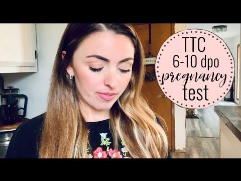 LIVE Early Pregnancy Test | 6-10 DPO | TTC Baby #3 | Skylar Peterson - YouTube